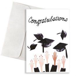 """Κάρτα Αποφοίτησης """"Congratulations"""""""