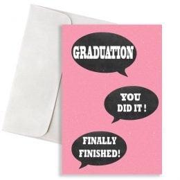 """Κάρτα Αποφοίτησης """"You Did It"""""""
