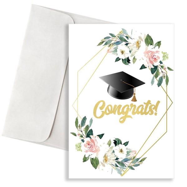 Κάρτα Αποφοίτησης Congrats