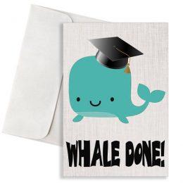 """Κάρτα Αποφοίτησης """"Whale Done"""""""