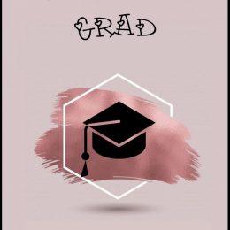 Ευχετήρια Κάρτα για Αποφοίτηση (σχέδιο 2)