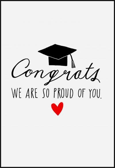 Ευχετήρια Κάρτα για Αποφοίτηση (σχέδιο 4)