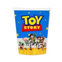 Ποτηράκι πάρτι Toy Story (6 τεμ)