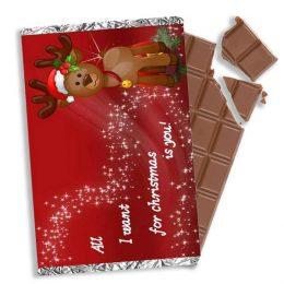 χριστουγεννιάτικη σοκολάτα all i want for christmas