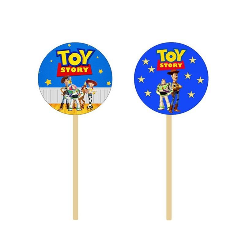 Στικάκια για cupcake Toy Story(8 τεμ)