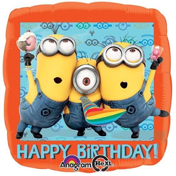 Μπαλόνι Minions Happy Birthday