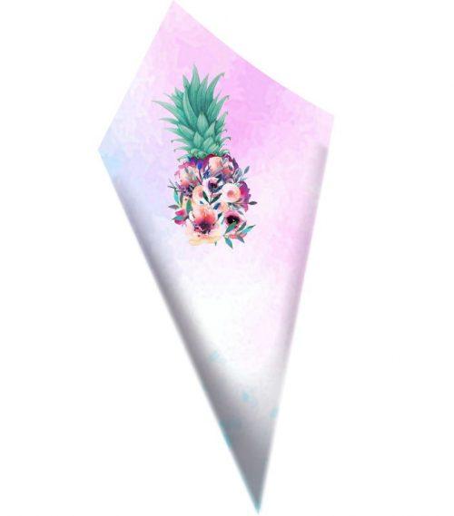 Χωνάκια ζαχαρωτών Ανανάς