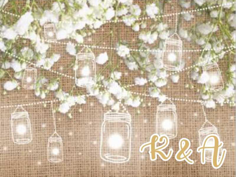 Ευχαριστήριο καρτελάκι γάμου Βαζάκια
