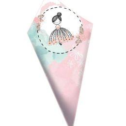 Χωνάκια ζαχαρωτών Πριγκιπισσούλα