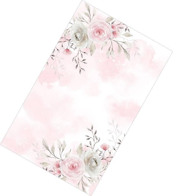 Χωνάκια ρυζιού ροζ Λουλούδια