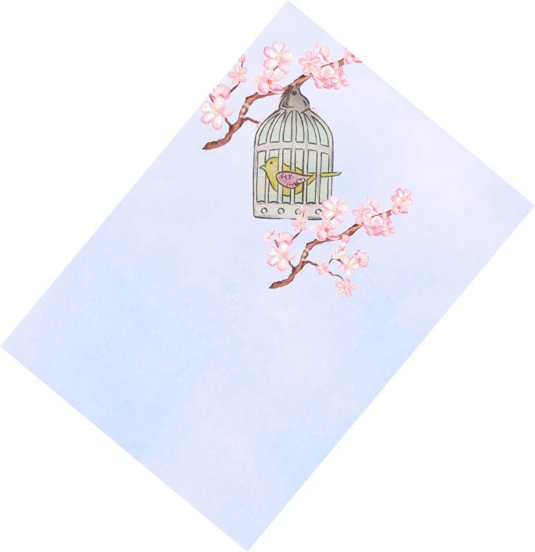 Χωνάκια ζαχαρωτών Κλουβάκι με πουλάκι