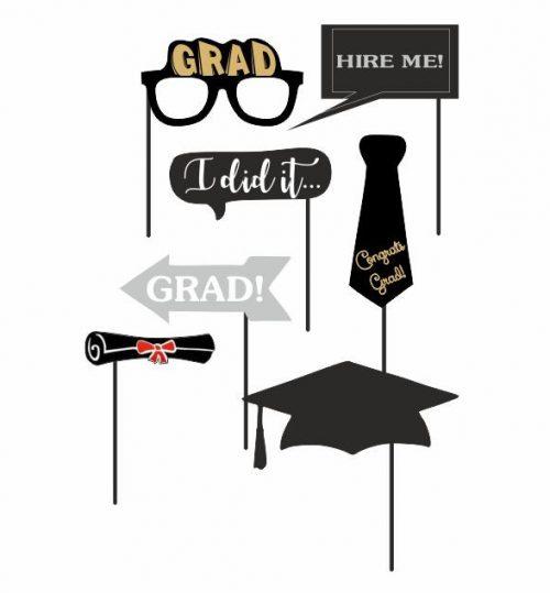Στικάκια Photo booth Αποφοίτησης