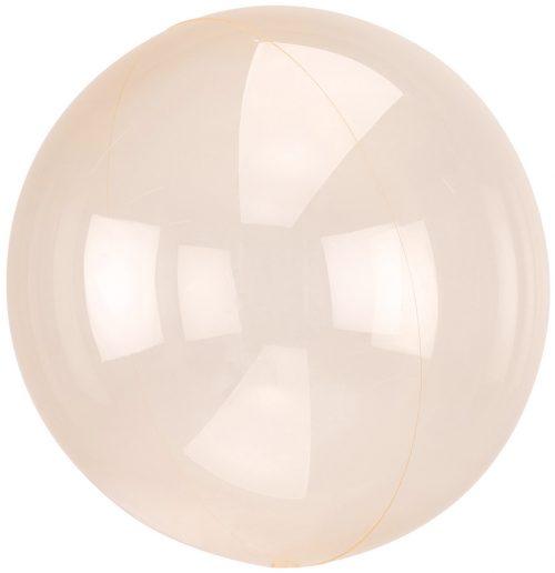 Μπαλόνι Crystal Πορτοκαλί σφαίρα 46 εκ
