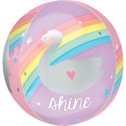 Μπαλόνι μαγικό Ουράνιο τόξο ORBZ 40 εκ