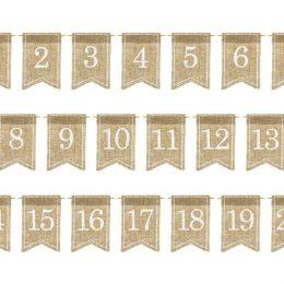 Ταμπελάκια για αρίθμηση τραπεζιού (20 τεμ)