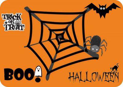 Σουπλά τραπεζιού Halloween
