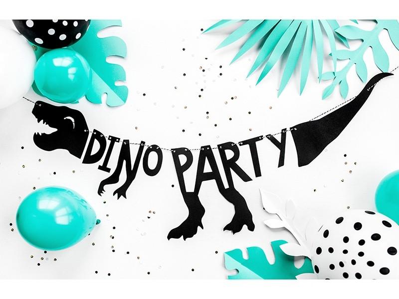 Διακοσμητική γιρλάντα Dino Party με δεινόσαυρο