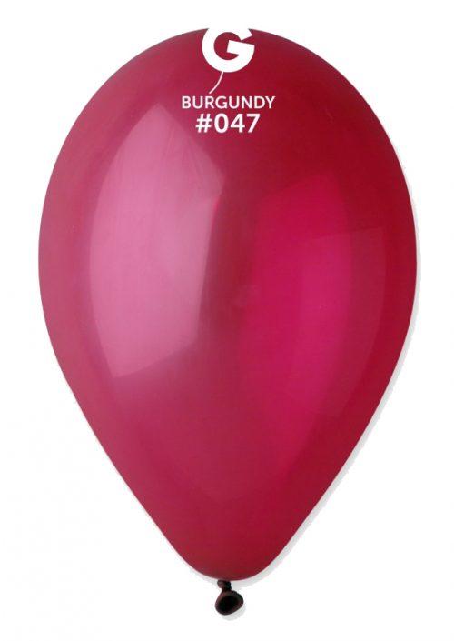 """13"""" Μπορντώ λάτεξ μπαλόνι"""