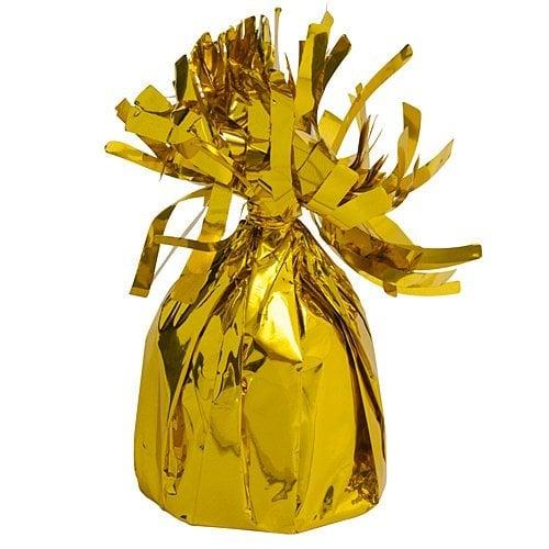 Βαρίδιο χρυσό για μπαλόνια