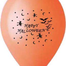 """12″ Μπαλόνι τυπωμένο """"Happy Halloween"""""""