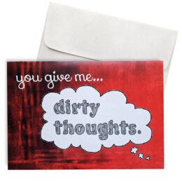 Κάρτα Αγάπης dirty thoughts