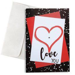 Κάρτα Αγάπης Love you
