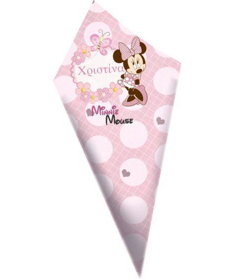 Χωνάκια ζαχαρωτών Minnie Mouse
