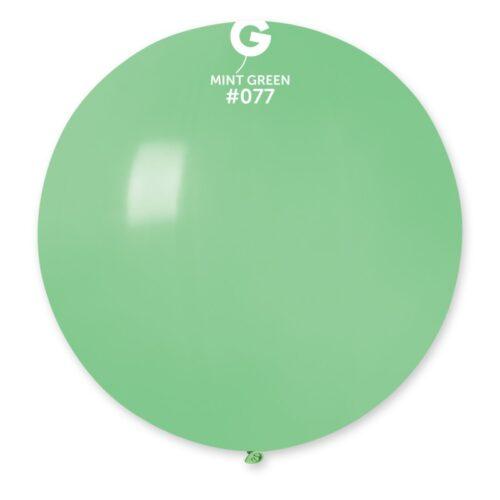 """31"""" Πράσινο μέντας μπαλόνι"""