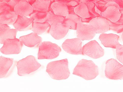Ροζ ροδοπέταλα σε σακουλάκι