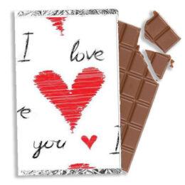 Σοκολάτα Αγάπης I love you