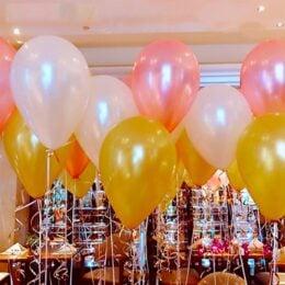 Κορδέλα Λευκή για μπαλόνια 18μ