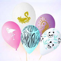 Τυπωμένα μπαλόνια Ζωάκια