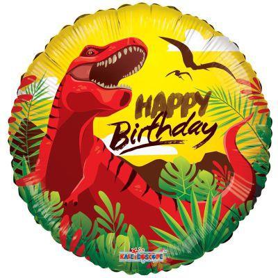 Μπαλόνι Happy Birthday δεινόσαυρος 46 εκ