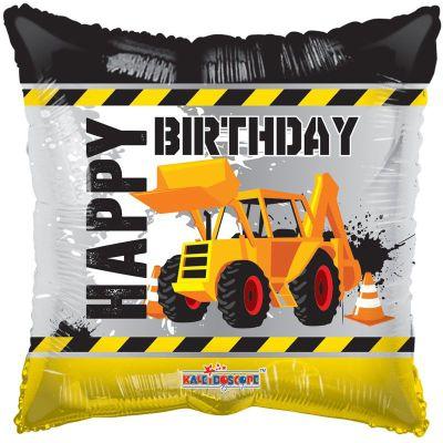 Μπαλόνι Happy Birthday υπό κατασκευή 46 εκ