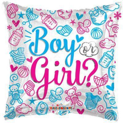 Μπαλόνι γέννησης Girl or Boy 46 εκ