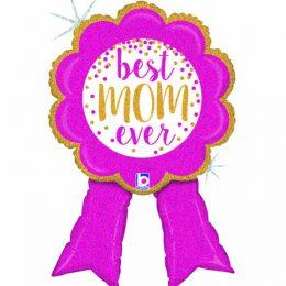Μπαλόνι Best Mom Ever Κορδέλα 84 εκ