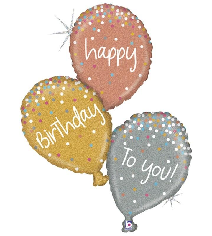 Μπαλόνι για γενέθλια Birthday Balloons 102 εκ