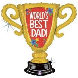 Μπαλόνι World's Best Dad Κύπελλο 84 εκ