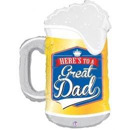 Μπαλόνι Great Dad Ποτήρι Μπύρας 86 εκ
