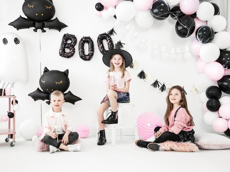 Μπαλόνι Μαύρο BOO 65 εκ (2 τεμ)