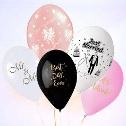 Τυπωμένα μπαλόνια Γάμου