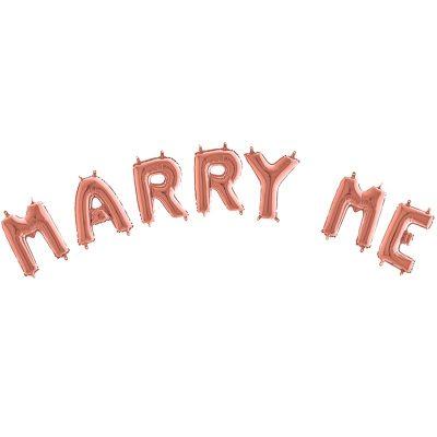 Μπαλόνι Marry Me Rosegold (7 τεμ)