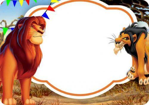 Σουπλά τραπεζιού Lion King
