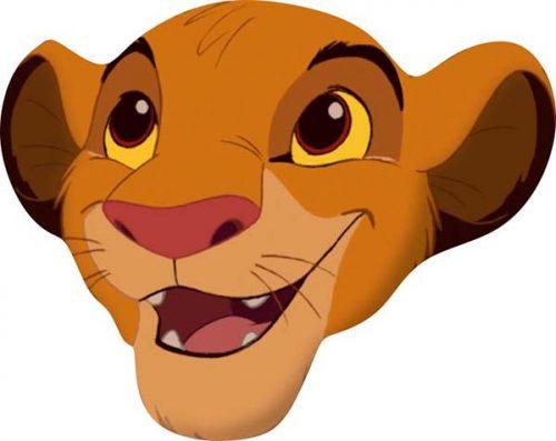 Χάρτινη Μάσκα Simba Lion King