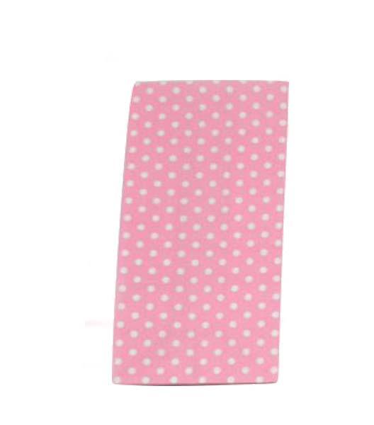 Ροζ με μικρό πουά χάρτινες σακούλες για δωράκια