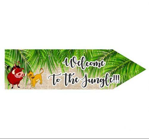 ξύλινη διακοσητική πινακίδα για πάρτι θεματική