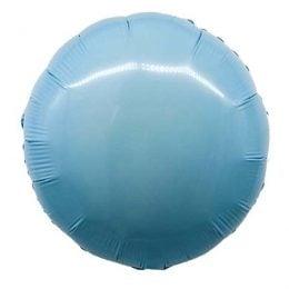 """Μπαλόνι γαλάζιο ολοστρόγγυλο 18"""""""