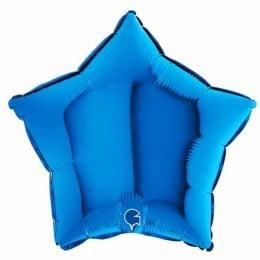 Μπαλόνι σκούρο μπλε αστέρι 18″