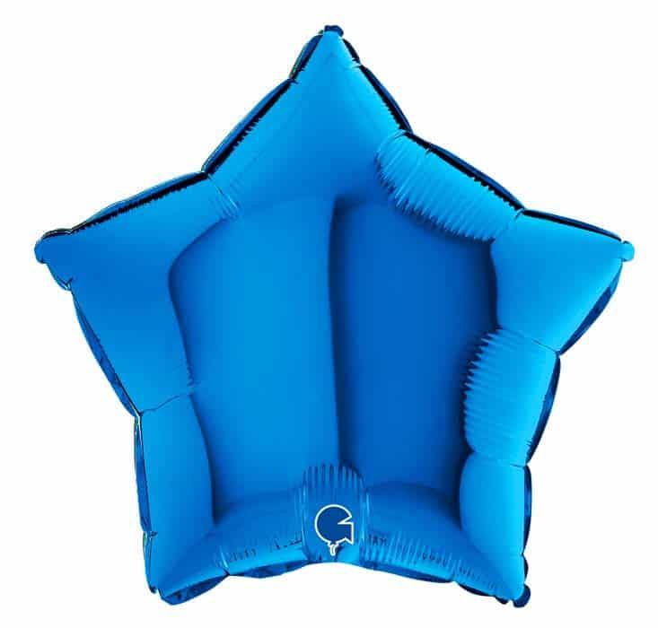 """Μπαλόνι Αστέρι 18"""" Σκούρο Μπλε"""