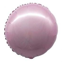 """Μπαλόνι ανοιχτό ροζ ολοστρόγγυλο 18"""""""